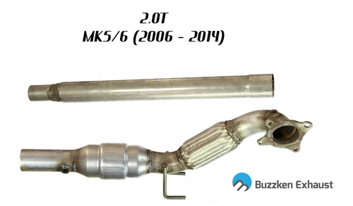 "3"" Downpipe for MK5/6 - 2.0T (2.0T-DP-Buzz) - 1"