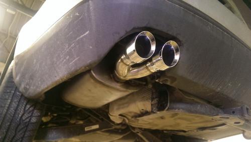 2.0T Catback System - Stainless Steel - BuzzKen - under bumper