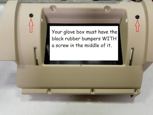 Glove box repair kit for VW MKIV Golf, Jetta and New Beetle