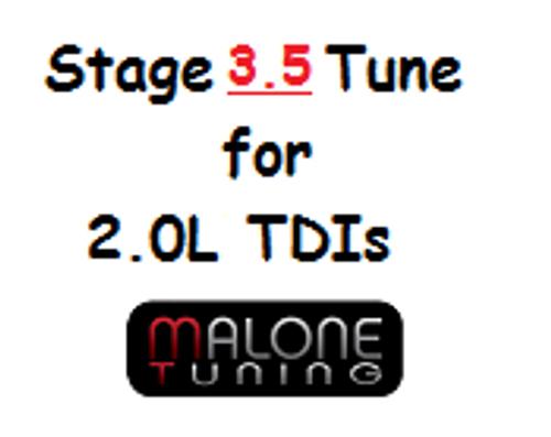Malone CR TDI - Stage 3.5 Tune - Golf/Jetta/New Beetle (Malone-2.0L-Stage3.5)