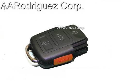 SQUARE KEY FOB 3 BUTTONS CONTROL Without PANIC for VW