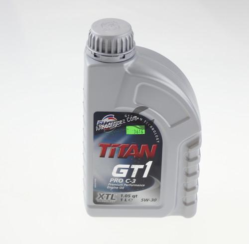 504.00/507.00 Motor Oil for CR TDI - Titan Pro-C3 5w30 - 1 Liter - Fuchs-1