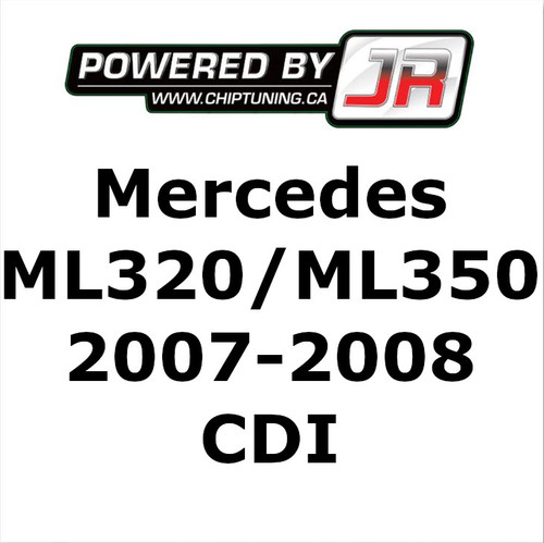 Mercedes R320 / ML320 / ML350 CDI - ECU Tune - JR AutoTuning Performance (2007-2008) (AAR1914)