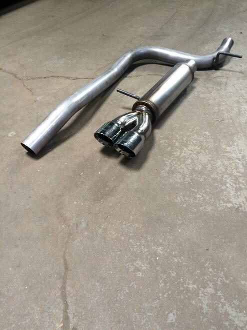 MK7 Golf TDI Catback Exhaust by Buzzken (AAR2266)