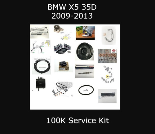 100K Restoration Kit for BMW E70 X5 35D (100K-e70)