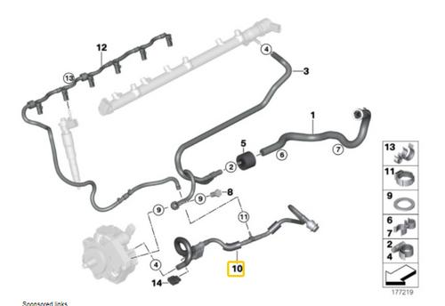 Low pressure fuel sensor and temp sensor fuel line
