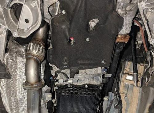 BMW 535D DPF delete, no midpipe