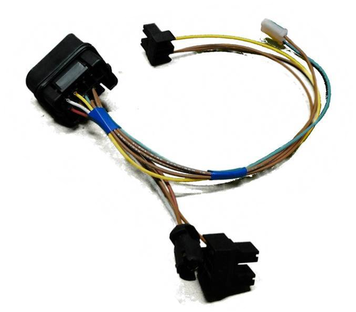 Brand New, Complete VW MKIV Golf Headlight Wiring Harness 1999.5 - 2005 Genuine OE Components (MKIVGOLFHARNESS) - top