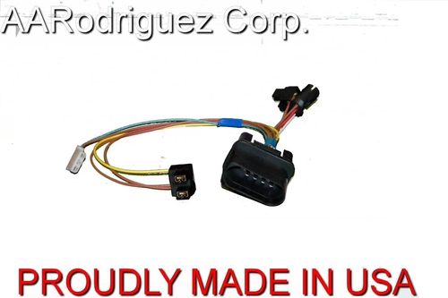 Brand New, Complete VW MKIV Golf Headlight Wiring Harness 1999.5 - 2005 Genuine OE Components (AAR497)
