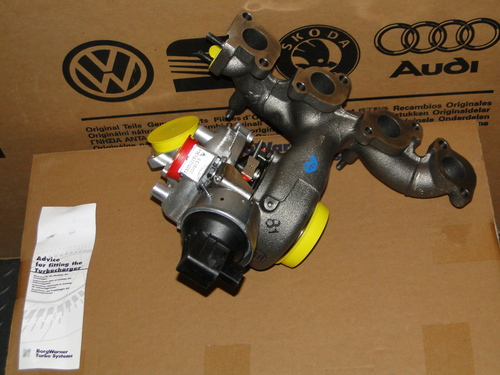 53039880208 CR TDI Stock Turbo - Borg Warner Turbocharger fits CBEA and CJAA