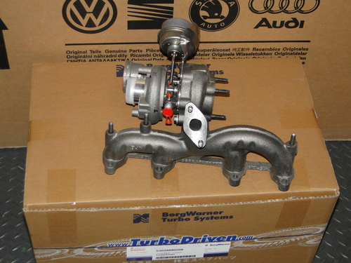 VW MK4 ALH TDI Borg Warner Turbo - VNT17 Turbocharger