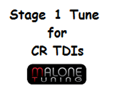 Malone CR TDI - Stage 1 Tune