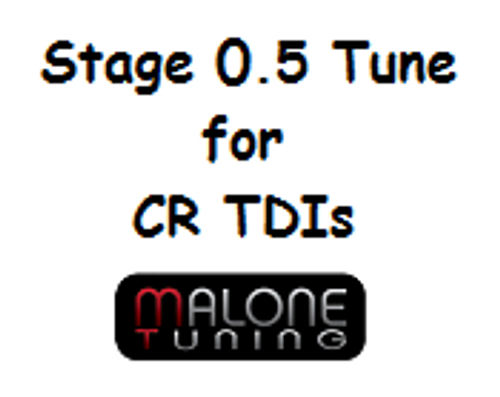 Malone CR TDI Tune - Stage 0.5