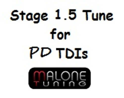 Malone Tuning Stage 1.5 PD Tune