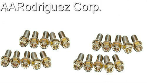 Wheel Bolts for VW / Audi 17mm Hex Head Lug Nuts   (Set of 20)