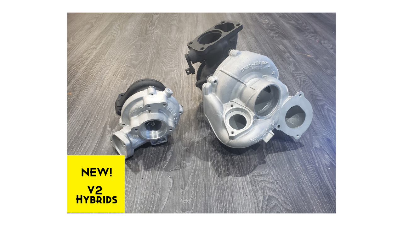 New Release! V2 Hybrid Turbos for BMW M57 Diesels - 335D and