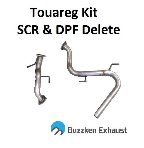 VW 3 0L CR TDI Touareg & Q7 DPF and SCR Delete Kit by BuzzKen (AAR1564)