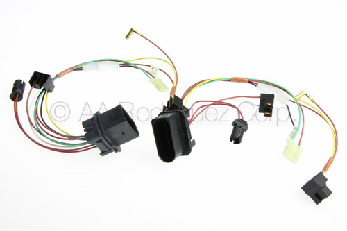 2) VW Golf Headlight with Fog Lights Wiring Harness | Audi Q7 Headlight Wiring Harness |  | TuneMyEuro
