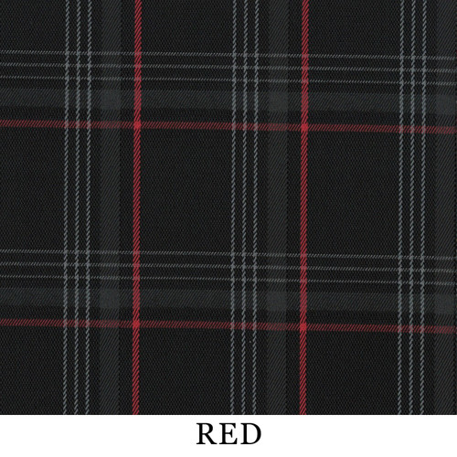 Golf GTI Plaid Fabric-Red