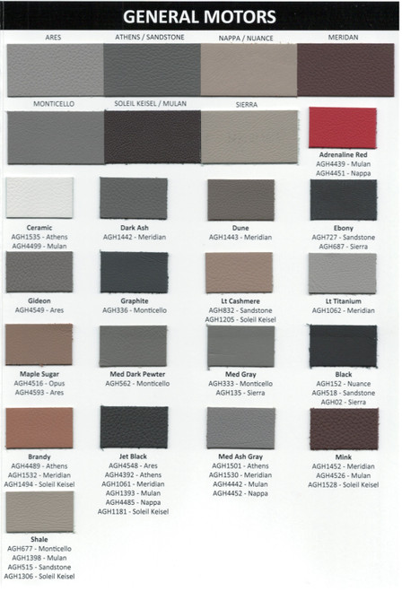 OEM Automotive Upholstery Leather