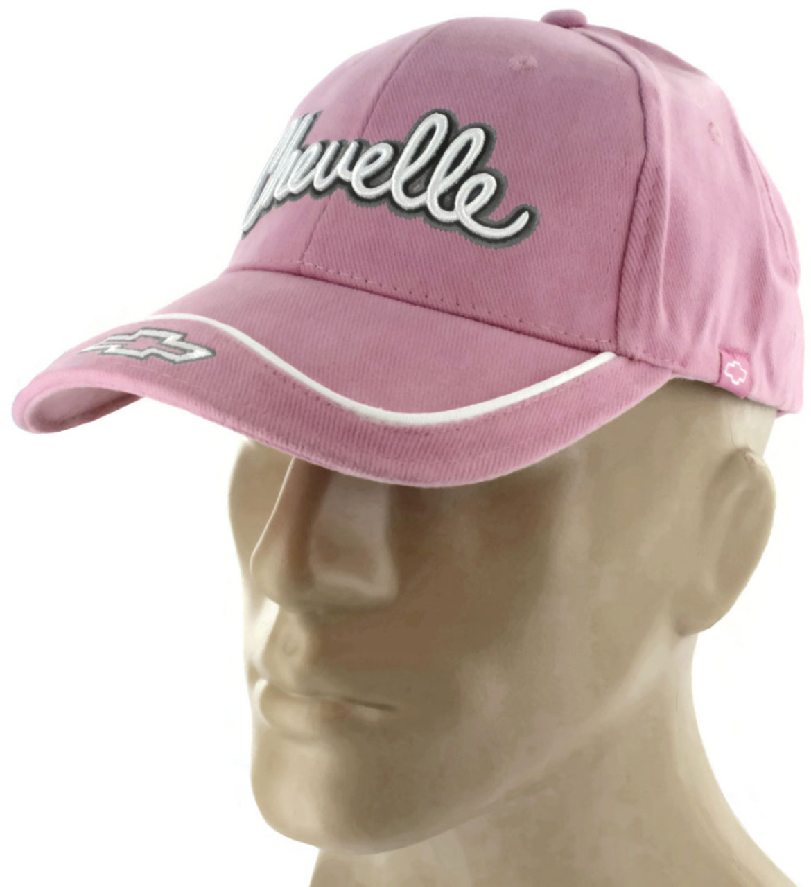 8863ac99f97 Chevrolet Chevelle SS Pink Baseball Cap Trucker Hat Snapback Yenko ...