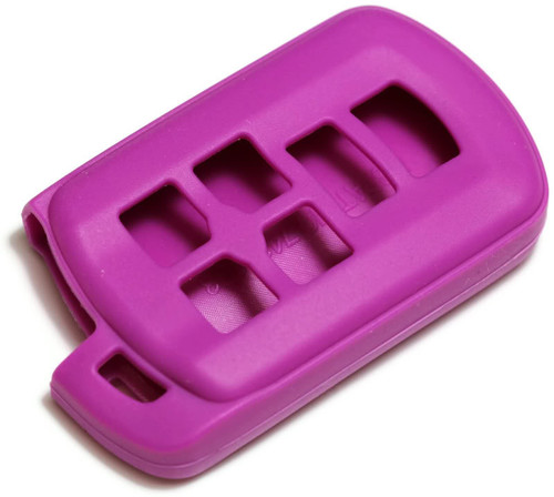 Purple Silicone Key Fob Cover Fits: Toyota 4Runner 10-13