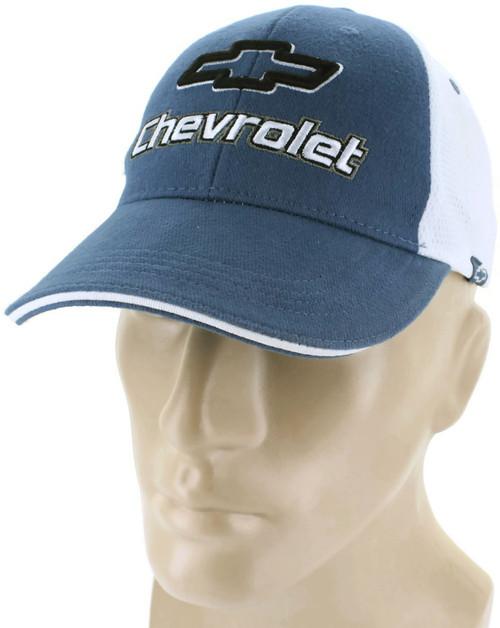 15deab7426f Chevrolet Mesh Blue Baseball Cap Trucker Hat Snapback Camaro SS Impala.   15.95. 1