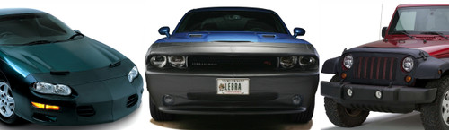 Front End Bra LeBra Custom Front End Cover If your model has fog lights special air-intakes or even pop-up headlights there is a LeBra for you LeBra 551462-01 Each LeBra is specifically designed to your exact vehicle model