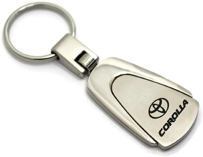 Toyota Corolla Black Tear Drop Key Chain