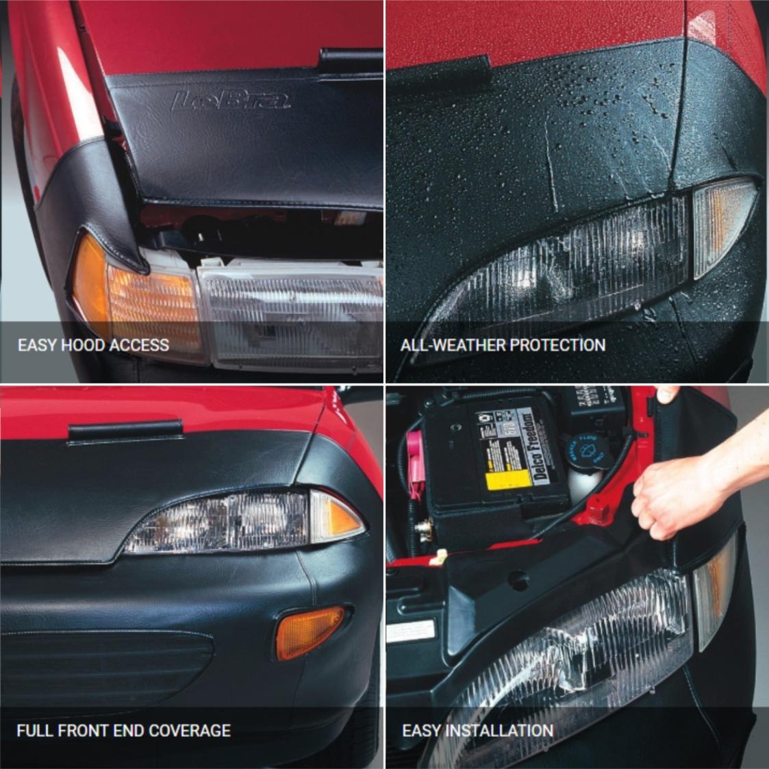 Lebra Black Custom Front End Cover 551464-01
