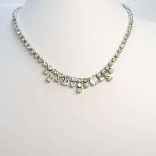 Fabulous sparkly  vintage Diamante Necklace