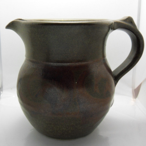 Mick Morgan studio pottery jug