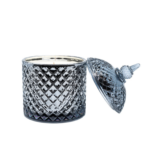 Cupola Jar Metallic Black