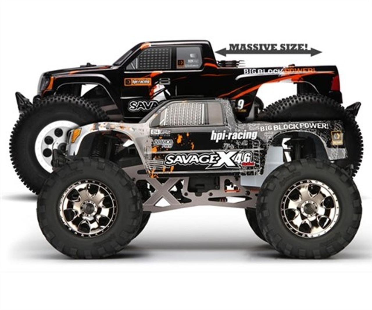 Hpi Savage Xl Nitro Rtr 4wd Rc Monster Truck