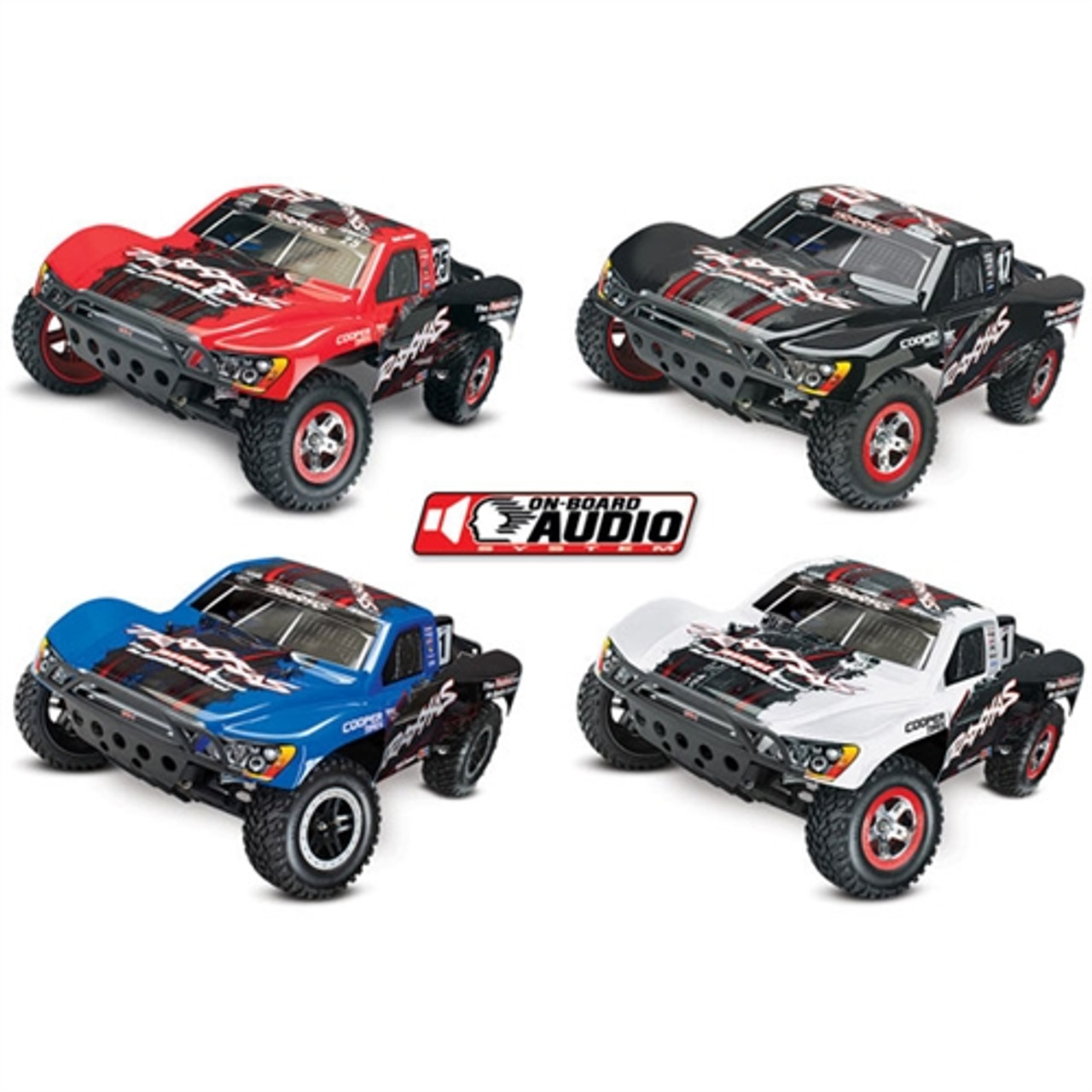Traxxas Slash 2wd Rtr On Board Audio Rc Truck