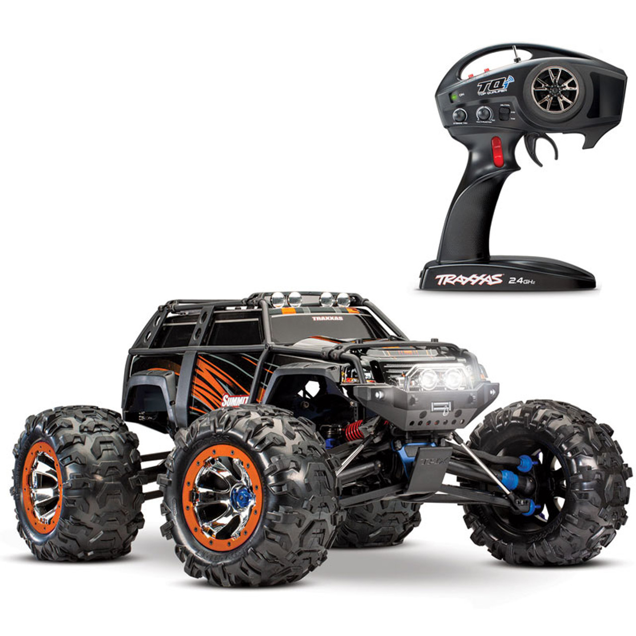 Traxxas Summit 4wd Rtr Rc Monster Truck With Tqi