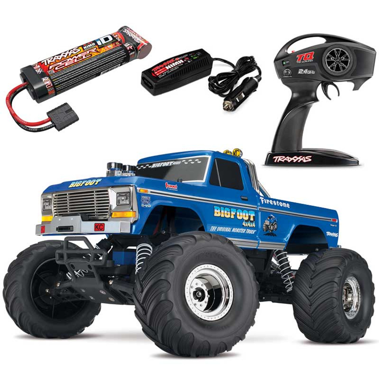 Traxxas Bigfoot Classic 2wd Rtr Rc Monster Truck