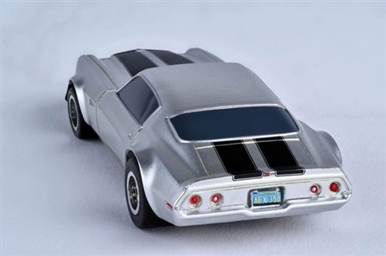 Afx 1970 Camaro Z28 Silver Mega G Ho Slot Car