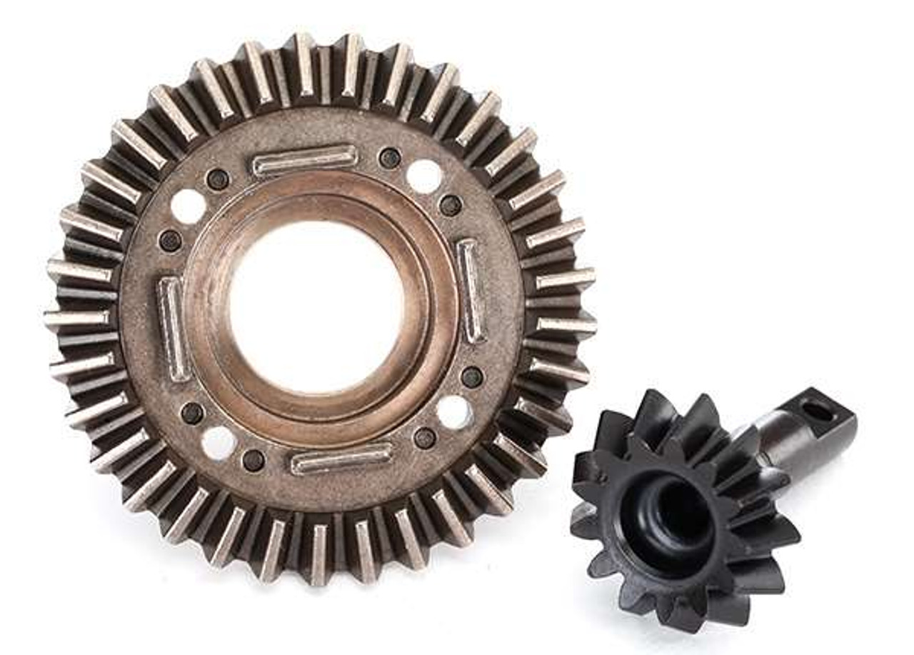 GPM Racing Traxxas UDR #45 Front Differential Ring and Pinion Gears UDR1200SF-BK