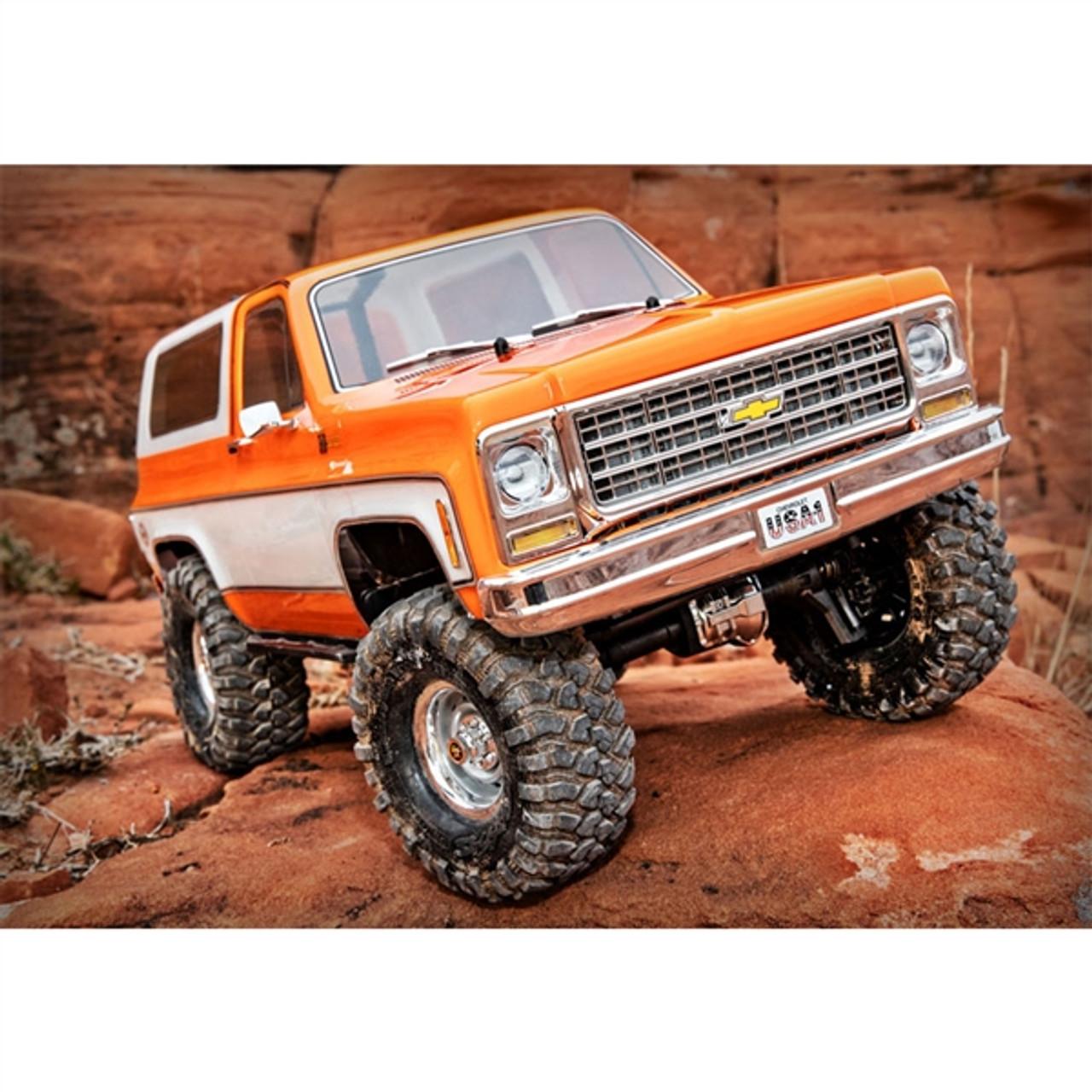 Traxxas Trx 4 Chevy K5 Blazer 4wd Rc Trail Truck