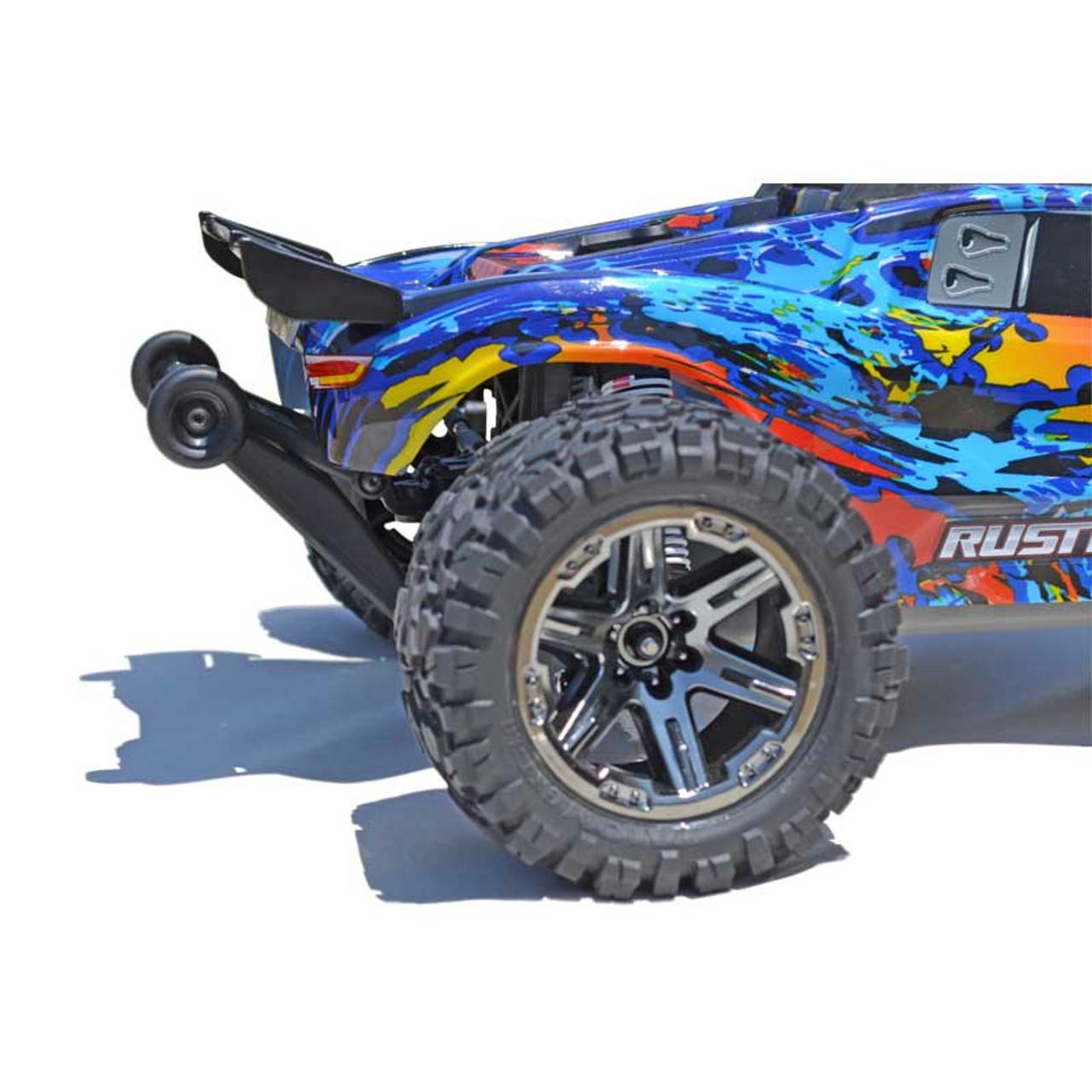 Traxxas Wheelie Bar Rustler 4x4 Black 6776