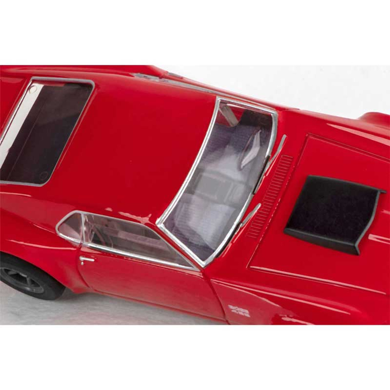AFX Big Block Shootout 23-Foot HO Slot Car Track w//Chevy Chevelle /& Ford Mustang