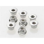 Traxxas 4mm Nylon Locking Wheel Nuts (8)