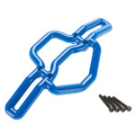 RPM Front Bumper (Blue): T-Maxx 2.5, 3.3, E-Maxx