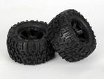 "Pro-Line Rear Trencher 2.8"" Tires w/Desperado Wheels: Stampede, Rustler"