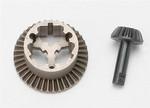 Traxxas Diff Ring & Pinion Gear: 1/16 E-Revo, Summit, Slash, Rally