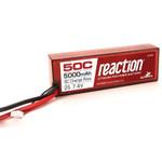 Dynamite Reaction 7.4V 5000mAh 2S 50C LiPo w/EC3