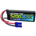 Lectron Pro 11.1V 3S 5200mAh 50C LiPo Battery EC5 Plug