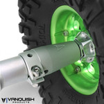 Vanquish Axial Wraith / Yeti Aluminum Clamping Lockouts Black Anodized