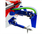 Hot Racing Aluminum Dual Pick-up Rudder Blade for Traxxas Spartan